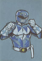 Blue Ranger by cmkasmar