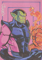 Super Skrull by cmkasmar