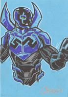 Blue Beetle Jaime Reyes by cmkasmar