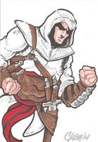 Assassin's Creed Altair by cmkasmar