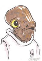 Admiral Ackbar by cmkasmar