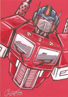 Optimus Prime 4 by cmkasmar