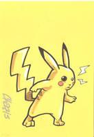 Pikachu by cmkasmar