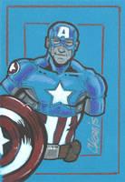 Ultimate Comics Captain America by cmkasmar
