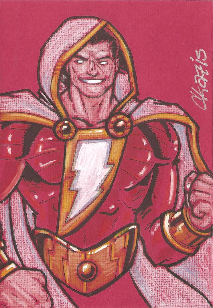 Shazam (New 52) by cmkasmar