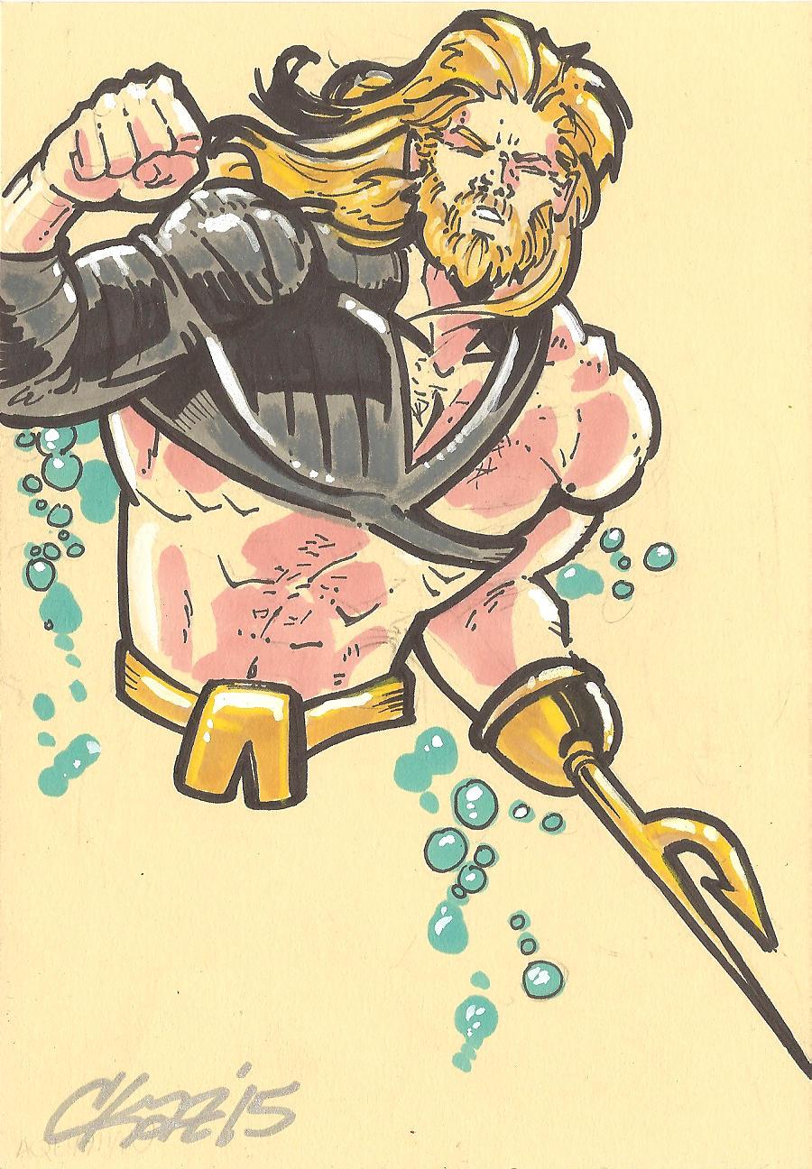 Aquaman 90s by cmkasmar