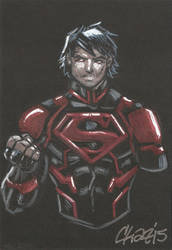 Superboy (New 52) by cmkasmar