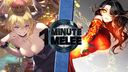 OMM Bowsette vs Cinder (The Internet vs RWBY) by MacMar02