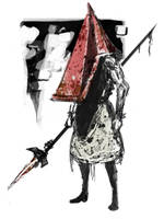 Pyramid Head by SkizzleBoots