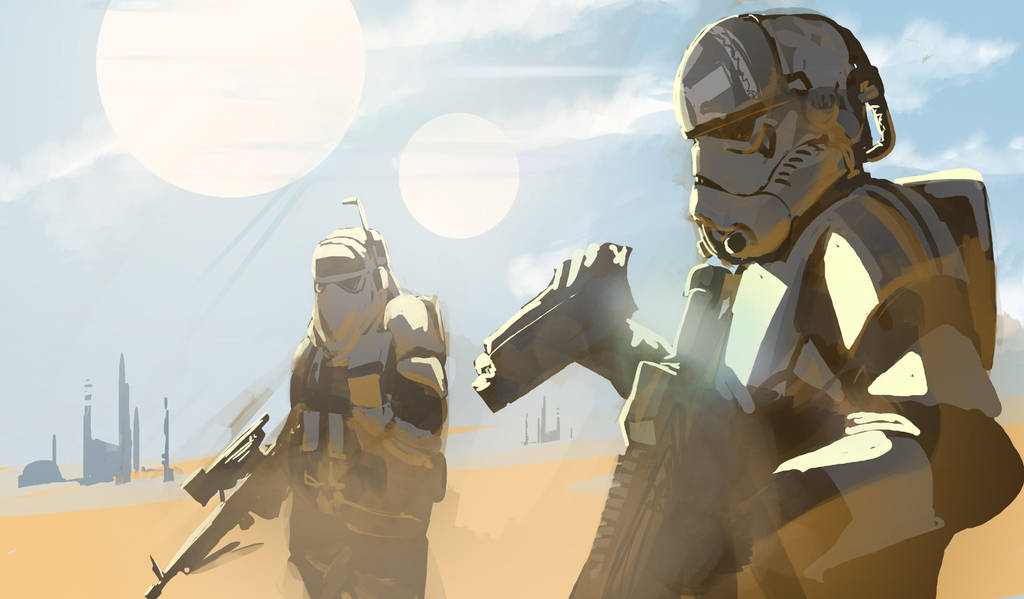IMPS Desert Recon by SkizzleBoots