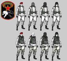 Russian Trooper Concepts by SkizzleBoots