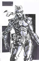 Solid Snake Brush Pen 2 by SkizzleBoots