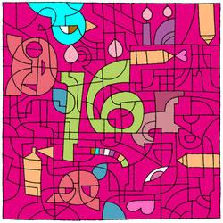 Happy 16th Birthday to DeviantART by pixieMoonTenika