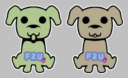 F2U Base: Cute Dog by pixieMoonTenika