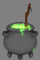 Cauldron by pixieMoonTenika