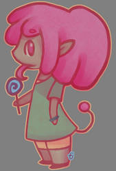 Character - Lolly by pixieMoonTenika