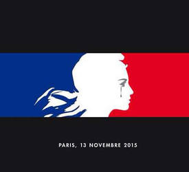 Terror Attack In Paris by dave-ian-heart
