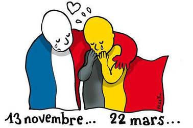 solidarite avec la belgique ..copyright Plantu .. by dave-ian-heart