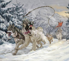 Snow patrol by KardisArt