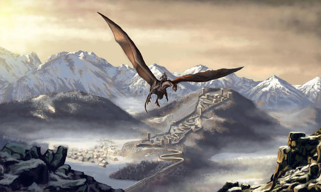 Dragon raider by KardisArt