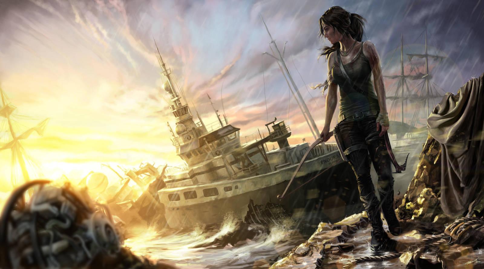Tomb Raider Reborn contest entry by KardisArt