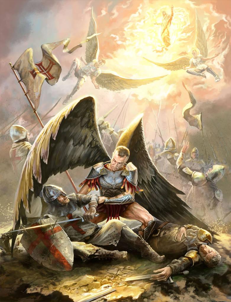Fallen Templar by KardisArt