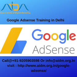 Google Adsense training in Delhi | Google Adsense by ajayaidm001