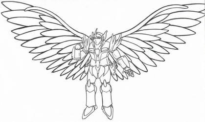 Falcon Prototype by nerdsloth