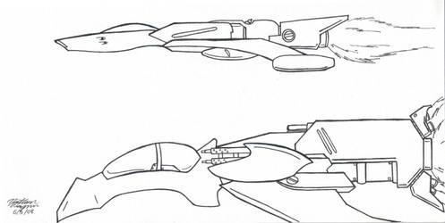 Fighter Designs by nerdsloth