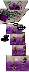 Dear Rider, pg 32: Flail On by Jeeaark