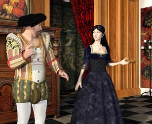 Strife With The King by dazinbane