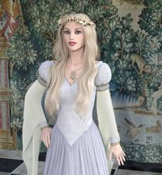 Melusine the fay bride by dazinbane