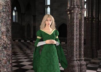 Medieval Princess Kelly by dazinbane