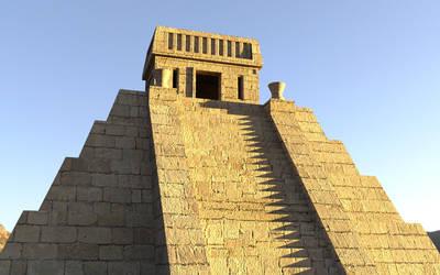 Aztec Pyramid by dazinbane