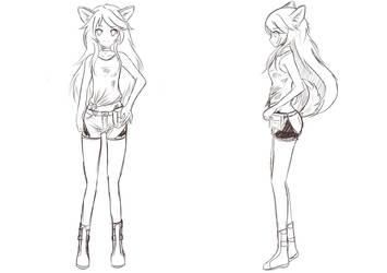 Seven Seasons Chloe Sketch by Chiyoko-Team