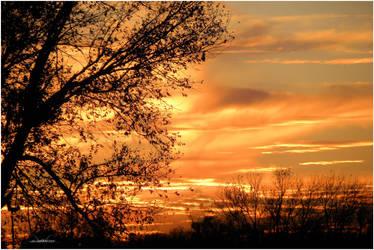 Orange Slice Sky by SuicideBySafetyPin