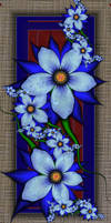 Blue Blue Blue by SuicideBySafetyPin
