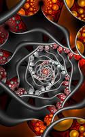 Spiral Tile by SuicideBySafetyPin