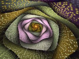Crackled Bloom by SuicideBySafetyPin
