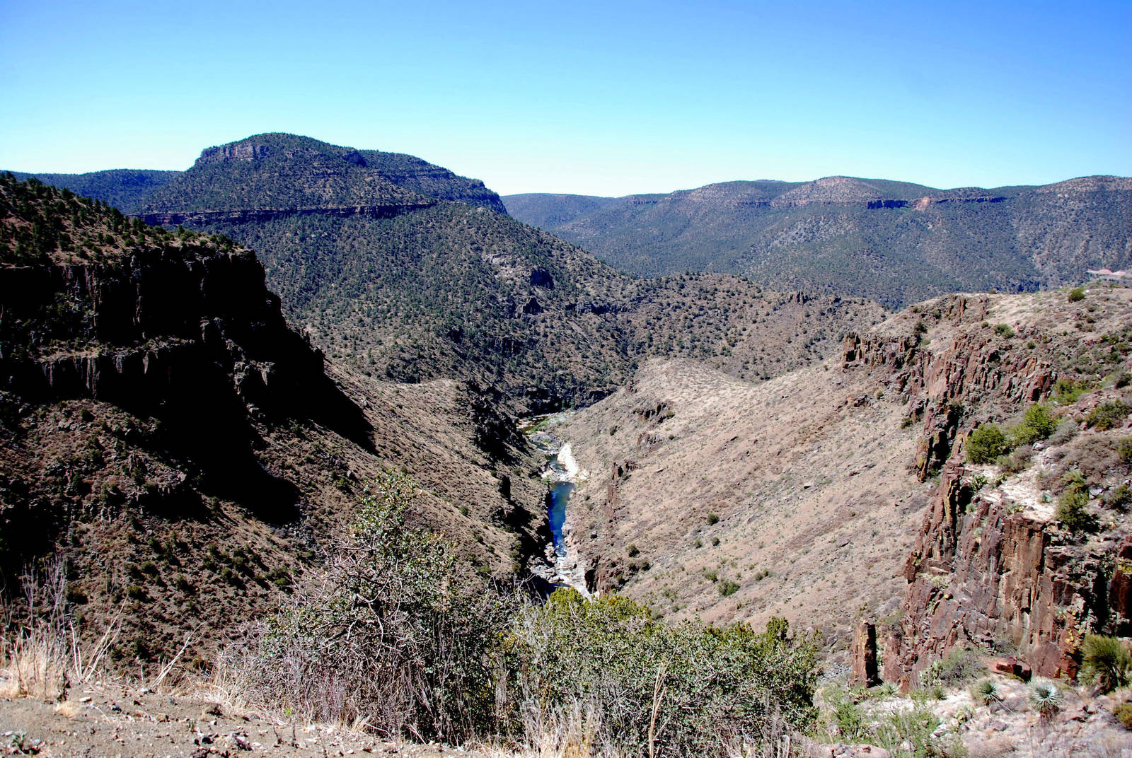 Salt River Canyon by SuicideBySafetyPin