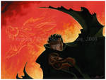 Kurogane: The Black Dragon by tarkheki