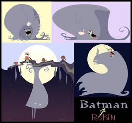 Batman and Robin by tarkheki