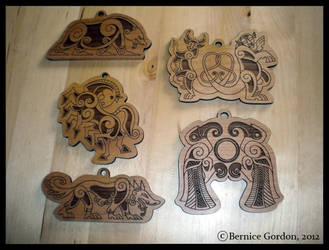 Norse Christmas Ornaments Pre-Order! 5 Styles! by tarkheki