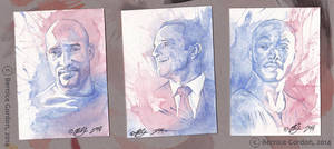 Agents of S.H.I.E.L.D.- ACEO Cards by tarkheki