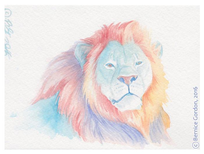 Blue Lion by tarkheki