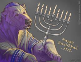 Happy Hanukkah 5779 by tarkheki