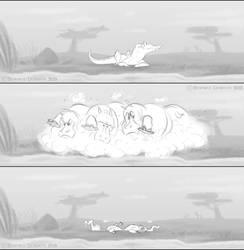 The Heartwarming Tale of Hippos by tarkheki