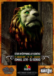 Lovetip Lion Poster by kalabalik