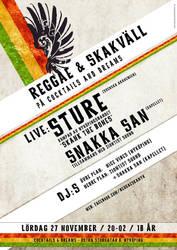 Reggae Poster by kalabalik