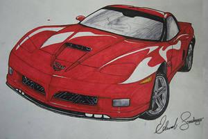 2009 Corvette Stingray Marker by Dragonis0
